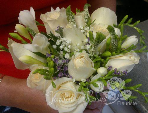 Bouquet de fleurs de mariage