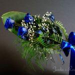 Trois roses bleues