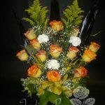 Roses, alstromeria et oeillets