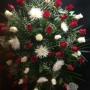 Couronne d'anastasias et de roses