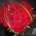 Roses rouges St-Valentin