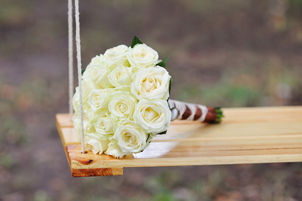 18 roses blanches