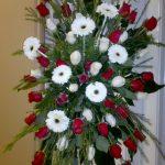 Gerbe murale de fleurs 41