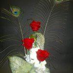 3 roses rouges éternelles
