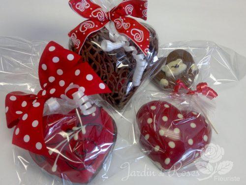 Chocolat belge pour la St-Valentin