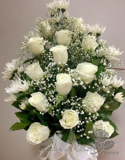 Arrangements de fleurs funéraires