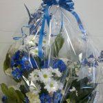 Arrangement de fleurs naissance 07