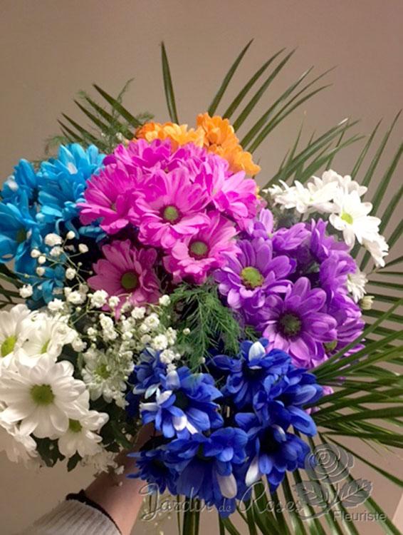 Bouquet de fleurs 13 - Livraison de fleurs St-Hubert, La Prairie - Rive-sud de Montréal