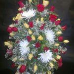Gerbe murale de fleurs 35