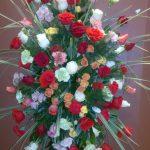 Gerbe murale de fleurs 36