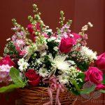 Panier de fleurs 27
