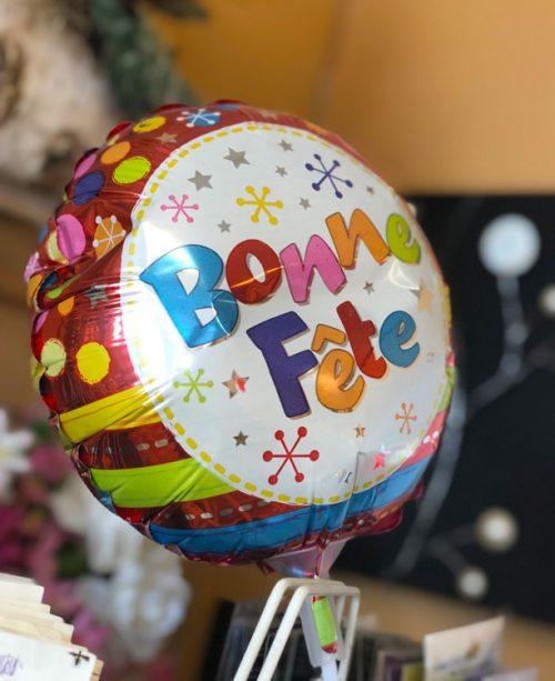 Ballon Milar gonflé à l'hélium