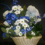 Arrangement de fleurs naissance 09